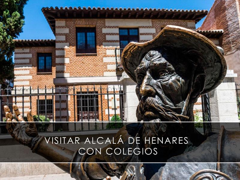 Visitar Alcalá de Henares con colegios
