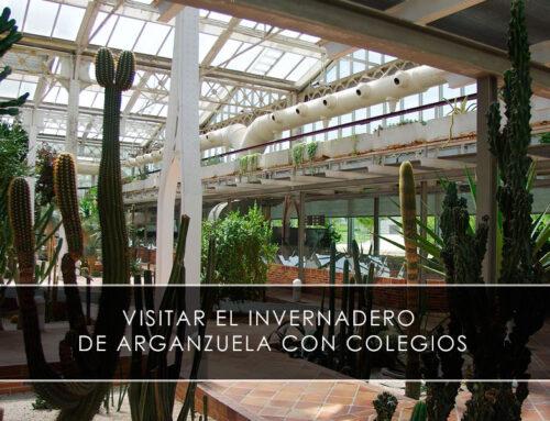 Visitar el invernadero de Arganzuela con colegios