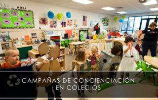 campañas de concienciación en colegios