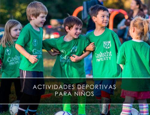Actividades deportivas para niños con Didácticaventura