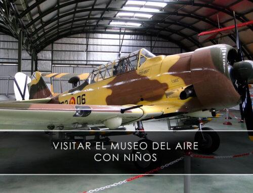 Visitar el Museo del Aire con niños