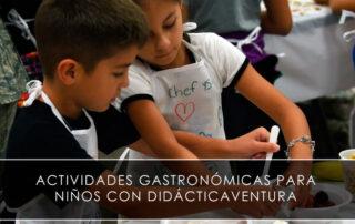 Actividades gastronómicas para niños