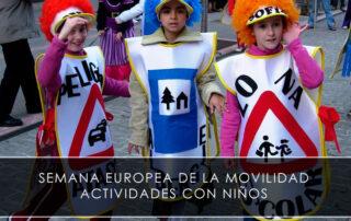 semana europea de la movilidad - actividades con niños