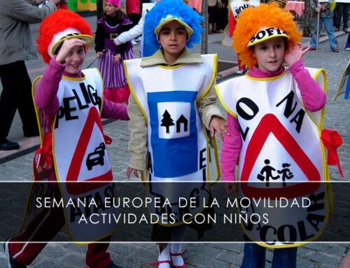 Semana europea de la movilidad para niños