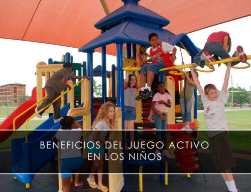 Beneficios del juego activo en los niños