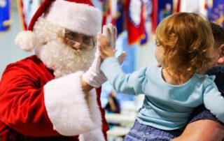Animación navideña en los centros comerciales