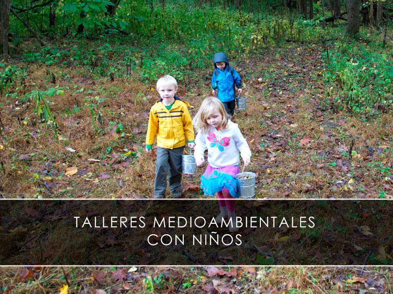talleres medioambientales con niños