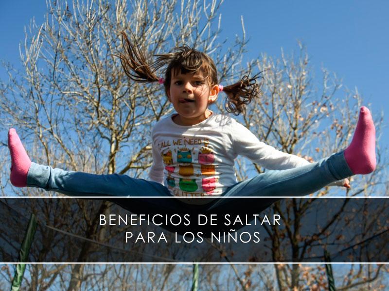 Beneficios de saltar para los niños